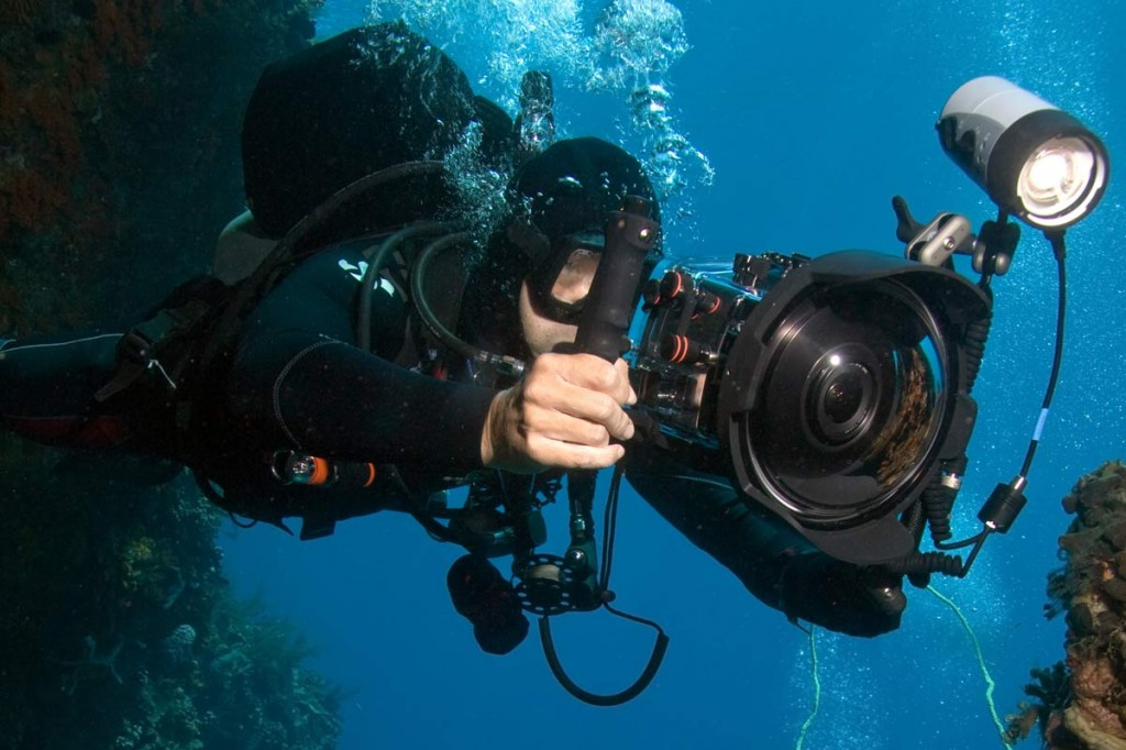 Спортивная фотокамера для фото в воде